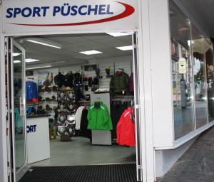 Eingang Sport Püschel