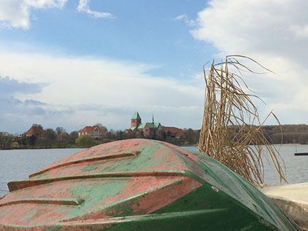 Ratzeburger See mit Dom im Hintergrund