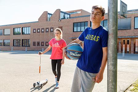 Schulsport im Freien