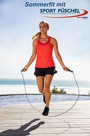 Sommerfit mit Sport Püschel Übung 1