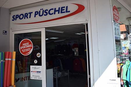 Eingangsbereich Sport Püschel Ratzeburg