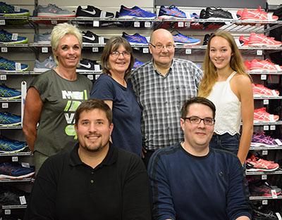 Gruppenfoto Team Sport Püschel