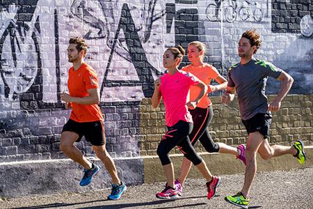 Sport Püschel in Aktion-Ausdauersport Laufen