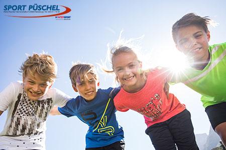Sportbekleidung für Kinder