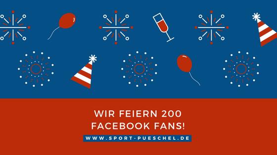 Wir feiern 200 Facebook Fans!